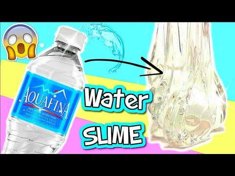 diy water slime wasser schleim ohne kleber i no glue water slime i patdiy youtube. Black Bedroom Furniture Sets. Home Design Ideas