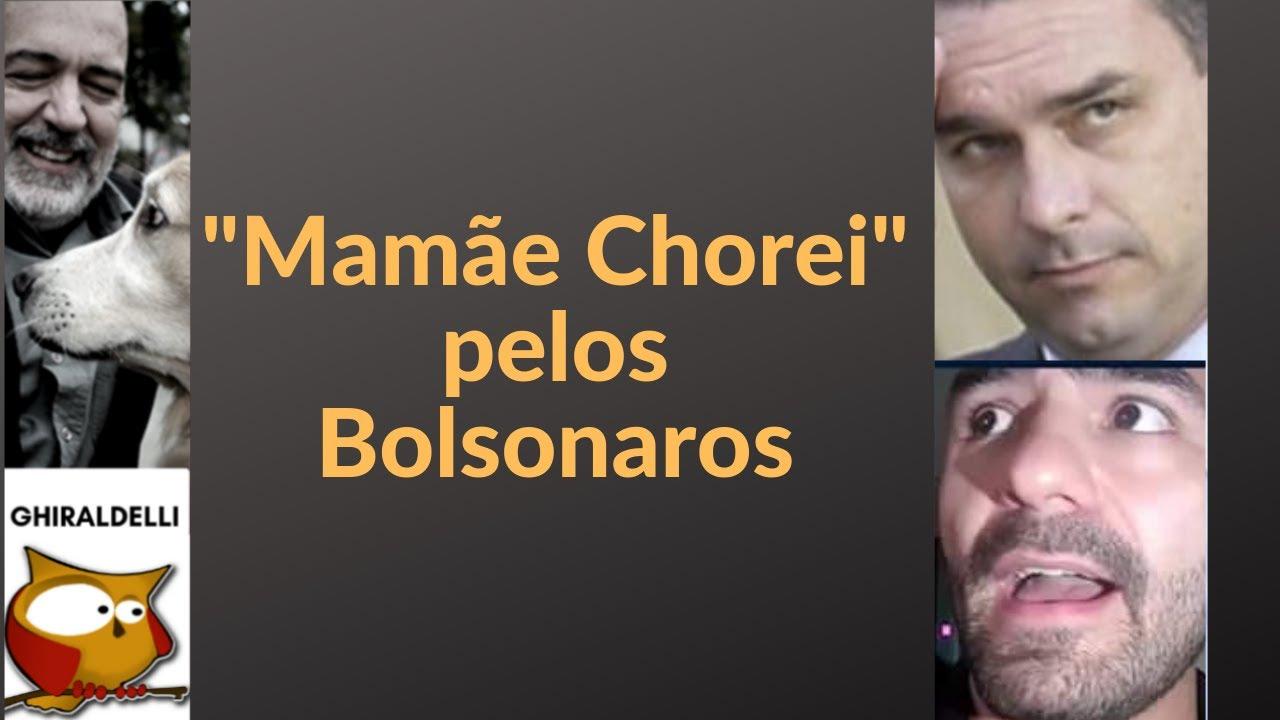 Mamãe Chorei - por causa de Flávio Bolsonaro