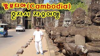 [세계여행] 캄보디아 씨엠립&프놈펜&앙코…