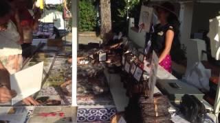 Jour de marché au camping l'Abri-Côtier