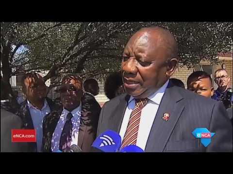Ramaphosa says Gordhan's axing is unacceptable