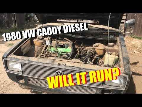 1980 VW Caddy Project 1 Day 1