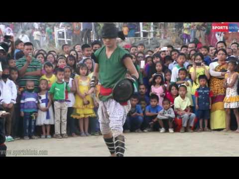 Amazing demonstration! Thang Ta martial artist showing his skills! No magic! No trick!