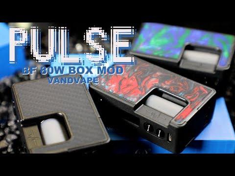 PULSE 80Watt BF Box Mod By VandyVape ~Vape Squonker Mod Review~