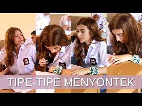 Tipe Tipe Mencontek Anak SMA @sarahkeihl