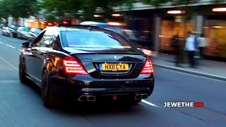 EPIC Mercedes-Benz BRABUS S-Class B63 in London! BRUTAL Exhaust Sounds!