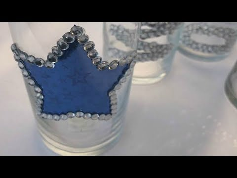 EASY TO MAKE  RHINESTONE DIY PROJECT | DALLAS COWBOYS INSPIRED