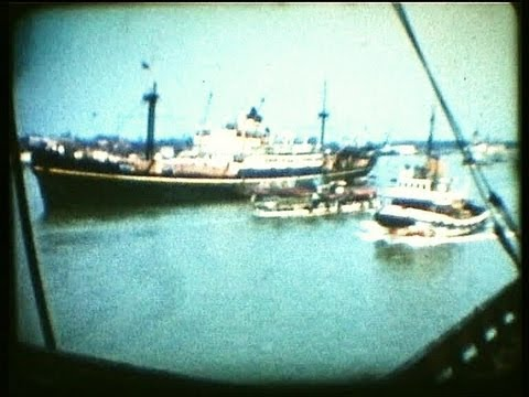Crossing the Indian Ocean by Dutch freighter in 1961