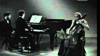 Jacqueline Du Pré and Daniel Barenboim play Brahms