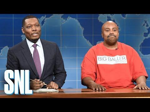 Weekend Update: LaVar Ball  SNL