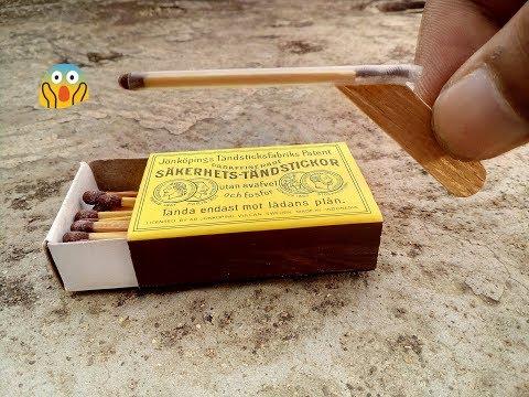 Cara membuat senjata api dari korek kayu (part 2)