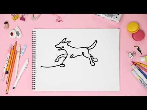 Рисунки без отрыва от бумаги
