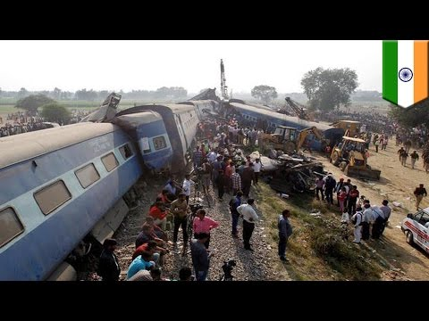 Train derailment: dozens killed as express train in India goes off the tracks - TomoNews