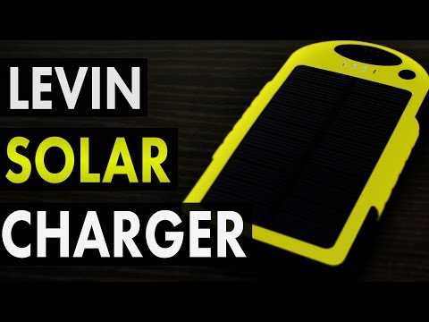 Charge Your Phone Without A Power Outlet - Levin Solar Battery Charger Review