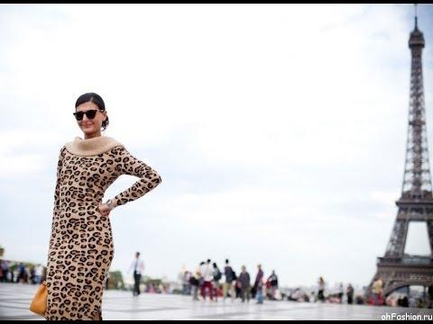 видео: Уличная мода Парижа, Весна-Лето 2014.