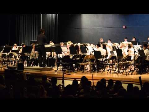 Bay City Handy Middle School 7th Grade Band Feb. 2016