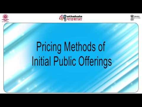 Capital markets: primary market and its organisation (com)