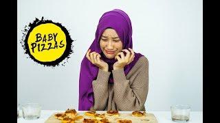 Download lagu Dalia Farhana Eats 10 Spicy Baby Pizzas
