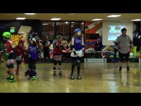 It's a Derbyful Life - Seattle Derby Brats Tootsy Rollers - Sugar Plums vs Candy Canes