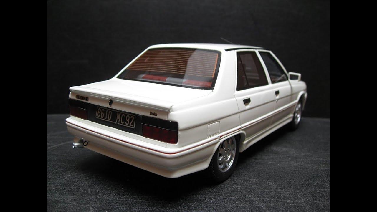 renault 9 turbo phase 3 1987 otto mobile models 1 18 ot066 youtube. Black Bedroom Furniture Sets. Home Design Ideas