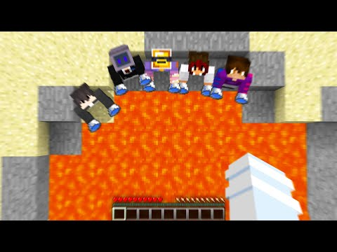 Minecraft Manhunt but if I Die the Hunters LOSE