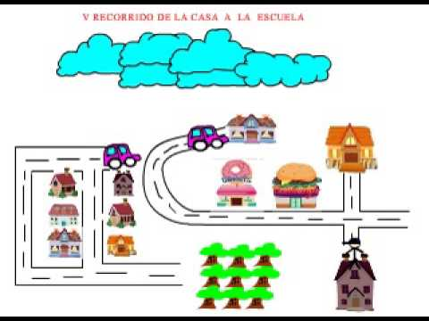 Adobe flash recorrido de la casa a la escuela youtube for Croquis de casas