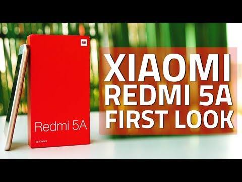 Xiaomi Redmi 5A Unboxing And First Look   Design, Features, Specifications, And More