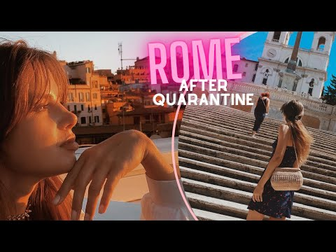 FIRST TRAVEL AFTER CORONAVIRUS // ROME, ITALY after quarantine
