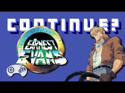 Earnest Evans (GEN) - Continue?