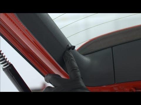 VW Hatch Cover Straps/Studs Repair Kit DIY