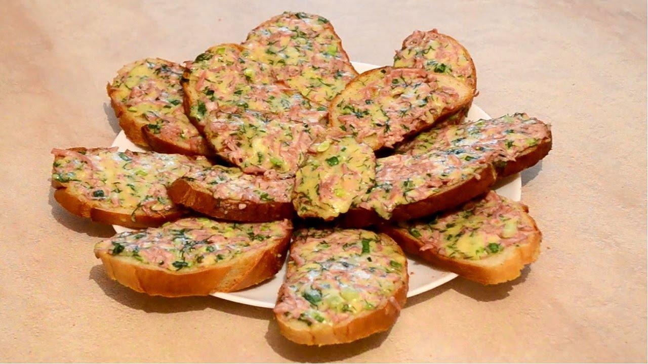 как приготовить бутербродв
