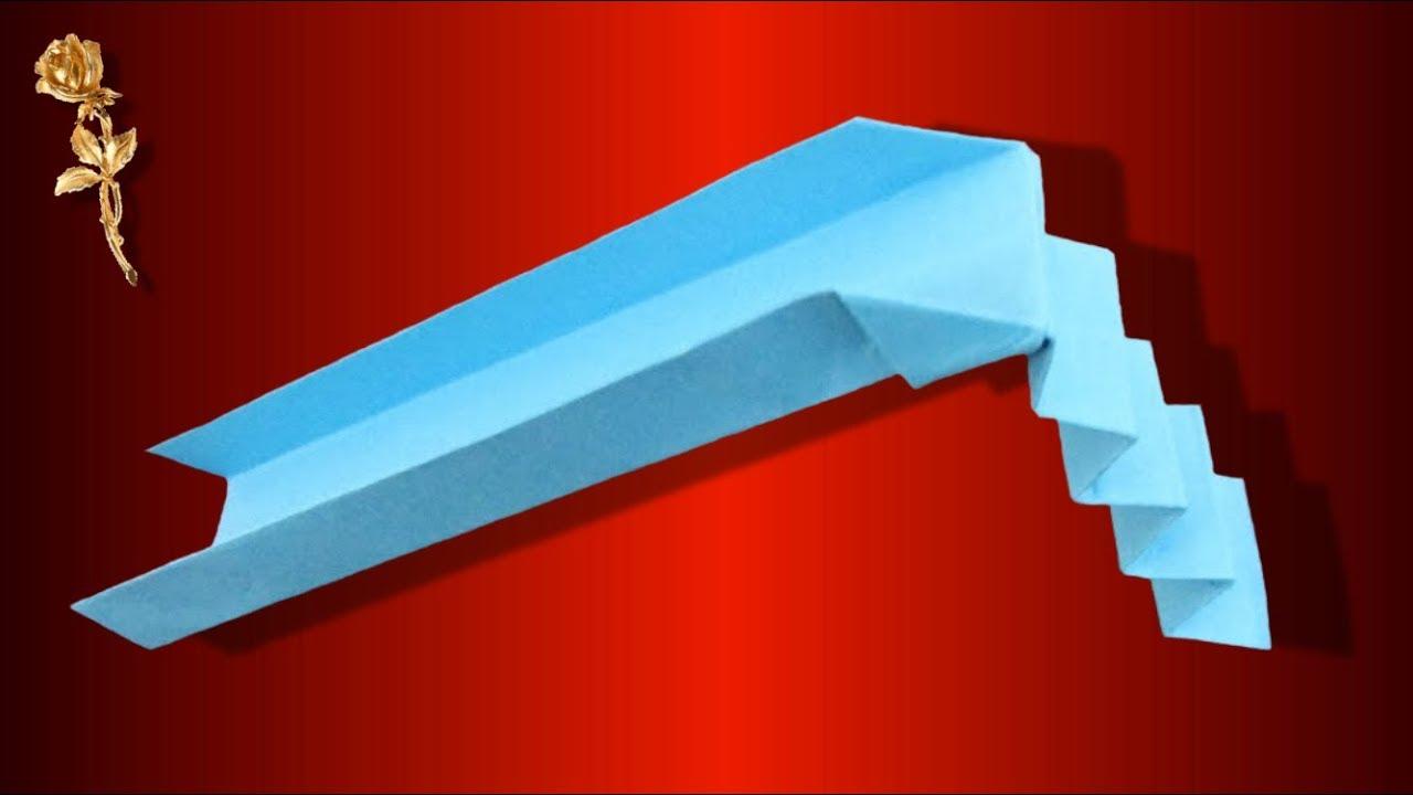 origami facile toboggan youtube. Black Bedroom Furniture Sets. Home Design Ideas