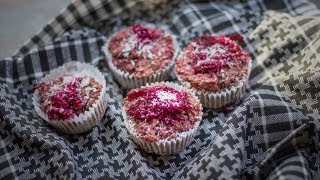 Beetroot Muffins - Vegan and Gluten Free