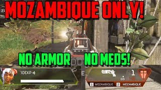 Apex Legends Nightmare Challenge! | No Armor, No Meds, Mozambique Only Gameplay!