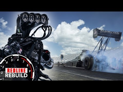 What goes into rebuilding an 11,000-hp Top Fuel dragster engine? | Redline Rebuilds Explained - S2E3