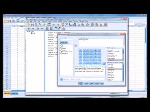 Computing Variables in SPSS