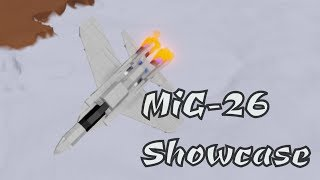 Russian MiG-26 Fighter Jet Showcase | Plane Crazy Roblox
