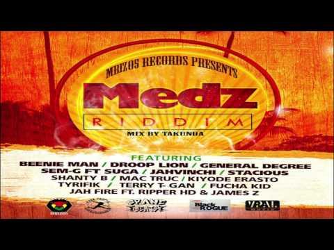 MEDZ RIDDIM-BEENIE MAN/GENERAL DEGREE/JAHVINC/SUGA-JULY 2017-MIX BY TAKUNDA [MBIZO5RECORDS]