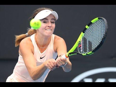 2018 Qatar Total Open First Round | CiCi Bellis vs. Daria Kasatkina | WTA Highlights