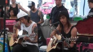 "PTV Acoustic ""She Makes Dirty Words Sound Pretty"" July 13th, 2010"