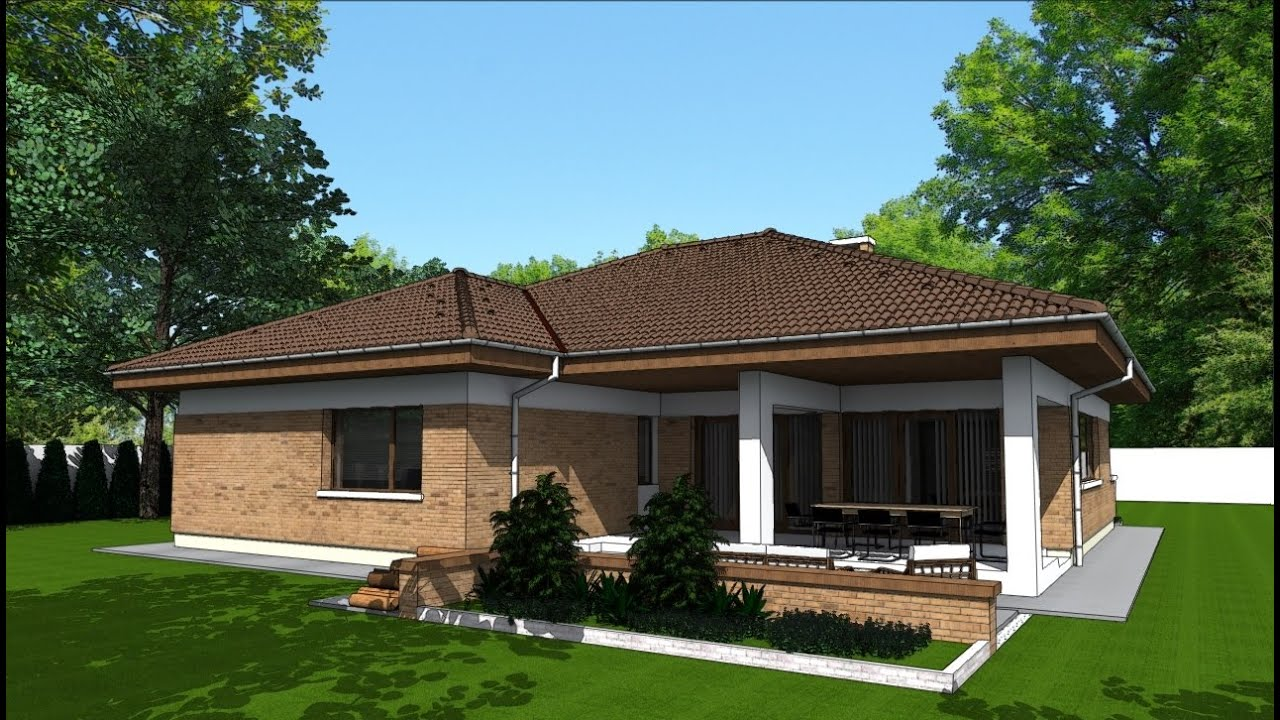 Model proiect casa parter p03 235 metri patrati arhitect for Case parter