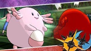 Gambar cover ¡CHANSEY CON CONTRAATAQUE SI QUE LA ROMPE! Pokémon Ultra Sol y Luna: COMBATE