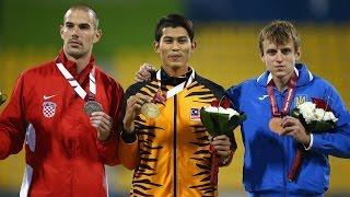 Men's long jump T20   final    2015 IPC Athletics World Championships Doha