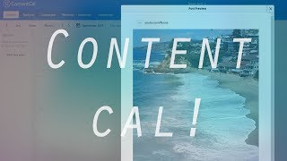 ContentCal.io - The ULTIMATE Way To Schedule Social Media Channels + Auto-Post + Approvals!