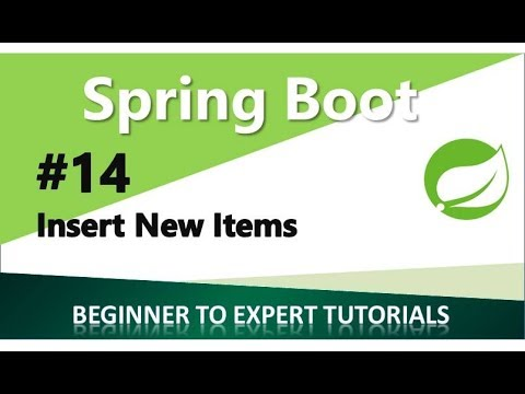 Spring Boot Tutorial 14 - Insert New Item and Test it Using Advanced REST  Client