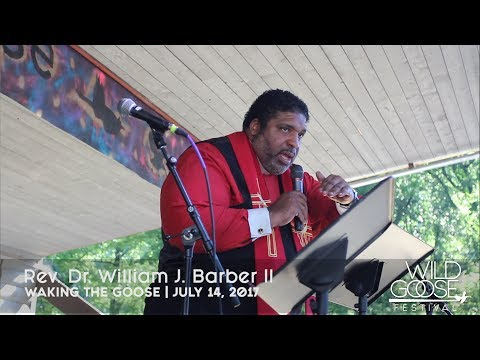 William Barber Wakes the Goose