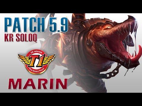 SKT T1 MaRin - Renekton Top Lane - KR SoloQ