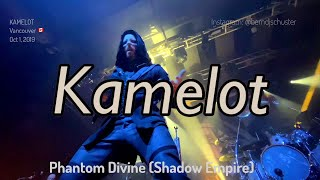 KAMELOT - 01 Phantom Divine (Shadow Empire) @VENUE, Vancouver, Canada - October 1, 2019 - 4K LIVE