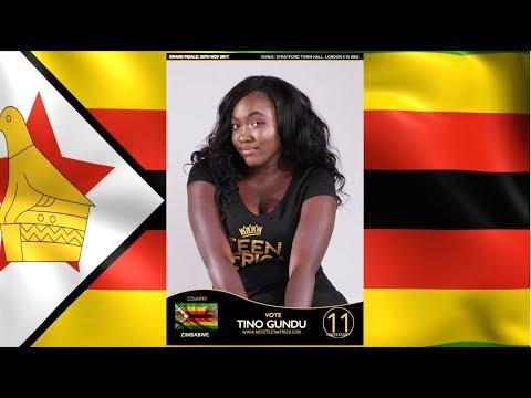Miss Teen Africa UK 2017 Finalist - Tino Gundu (Zimbabwe)