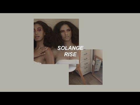 solange // rise (lyrics)